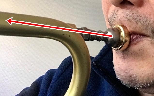トランペットの奏法を変えて7日目「アッパーに戻しました」